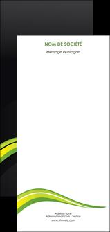 faire flyers paysage vert gris nature MIF80400