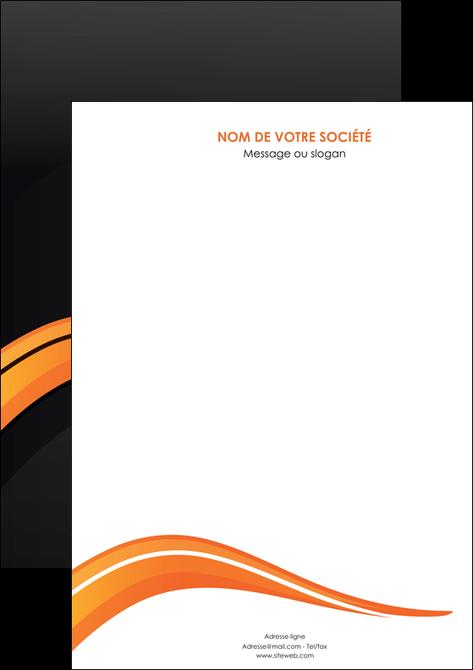 realiser affiche web design orange gris couleur froide MLGI80404