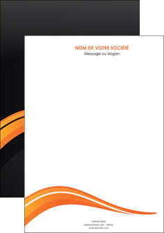 realiser affiche web design orange gris couleur froide MIF80404