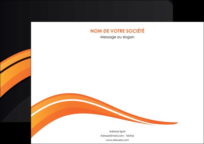 impression affiche web design orange gris couleur froide MLGI80420