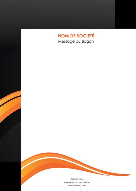 personnaliser modele de affiche web design orange gris couleur froide MLGI80446