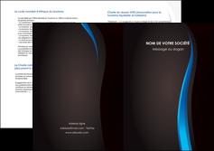 cree depliant 2 volets  4 pages  web design gris fond gris fond MLGI80844
