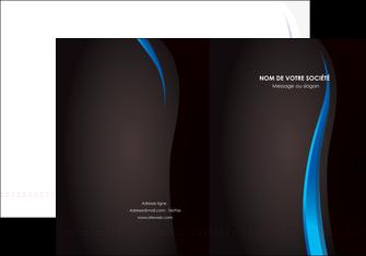 personnaliser maquette pochette a rabat web design gris fond gris fond MLGI80852