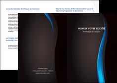 modele en ligne depliant 2 volets  4 pages  web design gris fond gris fond MLGI80858