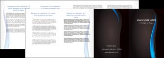 personnaliser modele de depliant 4 volets  8 pages  web design gris fond gris fond MLGI80868