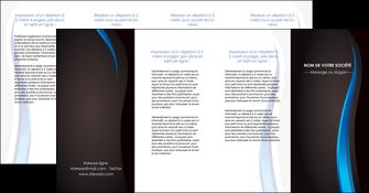 creer modele en ligne depliant 4 volets  8 pages  web design gris fond gris fond MLGI80872