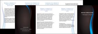 cree depliant 4 volets  8 pages  web design gris fond gris fond MLGI80874