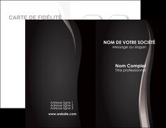 exemple carte de visite web design gris fond gris simple MLGI81176