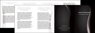 impression depliant 4 volets  8 pages  web design gris fond gris simple MLGI81194