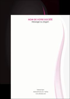 faire modele a imprimer flyers violet fond violet gris MLGI81236