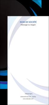 imprimerie flyers web design bleu couleurs froides abstrait MLGI81300