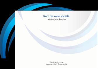 maquette en ligne a personnaliser flyers web design bleu couleurs froides abstrait MLGI81304