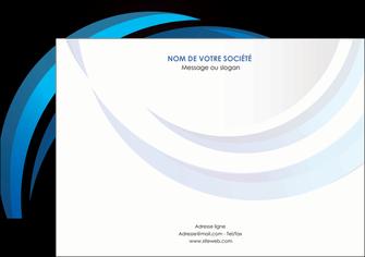 exemple flyers web design bleu couleurs froides abstrait MLGI81314