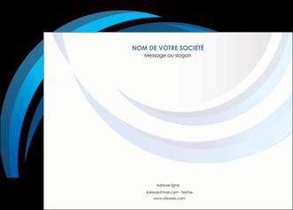 modele affiche web design bleu couleurs froides abstrait MLGI81322