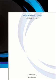 imprimerie affiche web design bleu couleurs froides abstrait MLGI81334