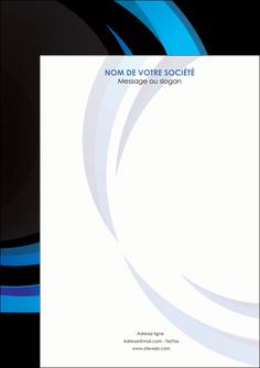 realiser flyers web design bleu couleurs froides abstrait MLGI81340