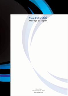 creation graphique en ligne affiche web design bleu couleurs froides abstrait MLGI81346