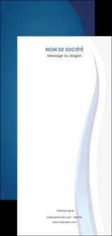 cree flyers web design bleu couleurs froides fond bleu MIF81576