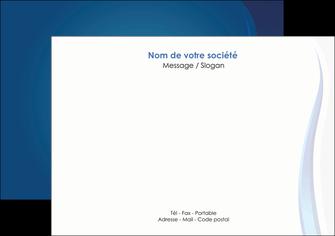 cree flyers web design bleu couleurs froides fond bleu MIF81580