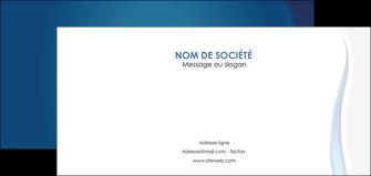 imprimerie flyers web design bleu couleurs froides fond bleu MIF81592