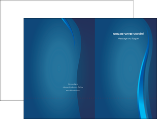 modele en ligne pochette a rabat web design bleu couleurs froides fond bleu MIF81604
