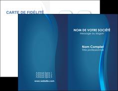 Impression Cartes de visite Web Design Carte commerciale de fidélité imprimer-carte-de-visite-impression Carte de visite Double - Portrait