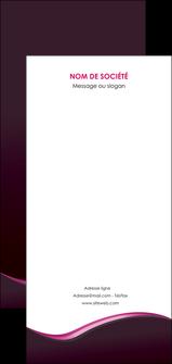 creer modele en ligne flyers web design violet noir fond noir MLGI81940