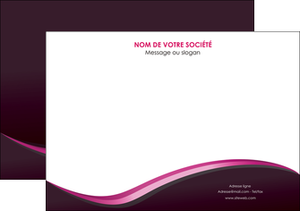 imprimer affiche web design violet noir fond noir MLGI81942