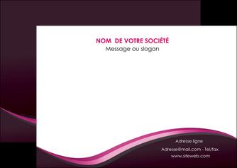 maquette en ligne a personnaliser flyers web design violet noir fond noir MLGI81948