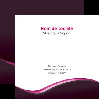 imprimerie flyers web design violet noir fond noir MLIG81952