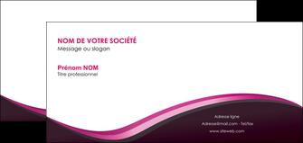 imprimerie carte de correspondance web design violet noir fond noir MLIG81958