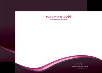 imprimerie affiche web design violet noir fond noir MLIG81962