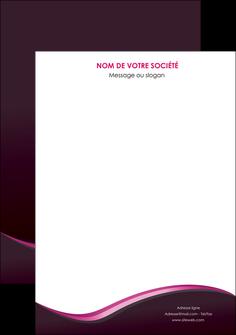 modele affiche web design violet noir fond noir MLGI81974