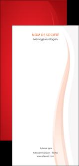 impression flyers web design rouge couleur colore MIF82292