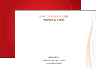 personnaliser modele de flyers web design rouge couleur colore MLIGBE82300