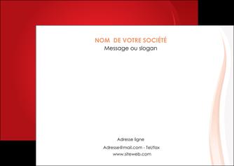 personnaliser modele de flyers web design rouge couleur colore MIF82300
