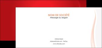 impression flyers web design rouge couleur colore MIF82308