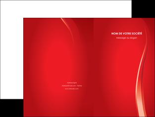 creer modele en ligne pochette a rabat web design rouge couleur colore MLIG82320