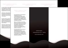 modele depliant 3 volets  6 pages  web design gris rose fond gris MLGI83698