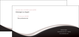 modele en ligne carte de correspondance web design gris rose fond gris MLGI83710