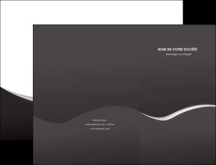 impression pochette a rabat web design gris rose fond gris MLGI83722
