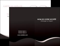 faire modele a imprimer carte de visite web design gris rose fond gris MLGI83724