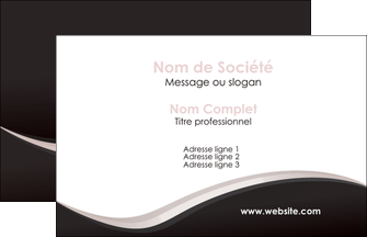 realiser carte de visite web design gris rose fond gris MLGI83734