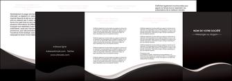 imprimer depliant 4 volets  8 pages  web design gris rose fond gris MLGI83736