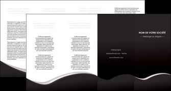 exemple depliant 4 volets  8 pages  web design gris rose fond gris MLGI83740