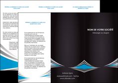 Commander Plaquette d'entreprise Web Design papier publicitaire et imprimerie Dépliant 6 pages Pli roulé DL - Portrait (10x21cm lorsque fermé)