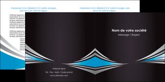 faire modele a imprimer depliant 2 volets  4 pages  web design abstrait arriere plan bande MIF84382