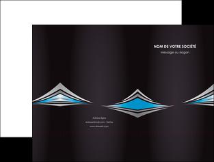 impression pochette a rabat web design abstrait arriere plan bande MIF84400