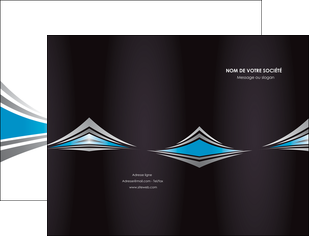 exemple pochette a rabat web design abstrait arriere plan bande MLGI84402