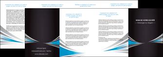 imprimerie depliant 4 volets  8 pages  web design abstrait arriere plan bande MIF84414